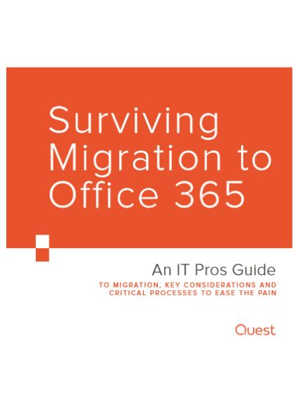 Surviving  Migration to Office 365