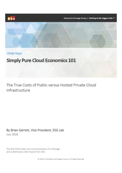 Simply Pure Cloud Economics 101