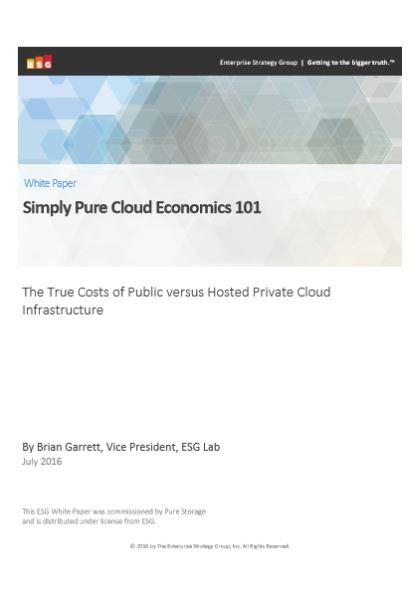 Simply Pure Cloud Economics 101