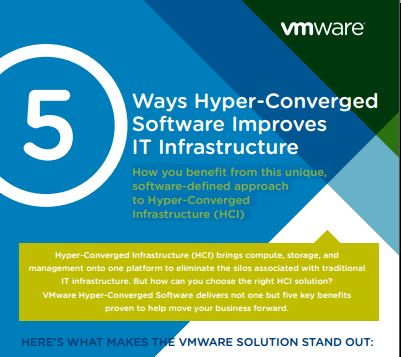 5 Ways Hyper-Converged Software Improves IT Infrastructure