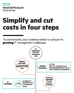 Simplify and cut costs in four steps