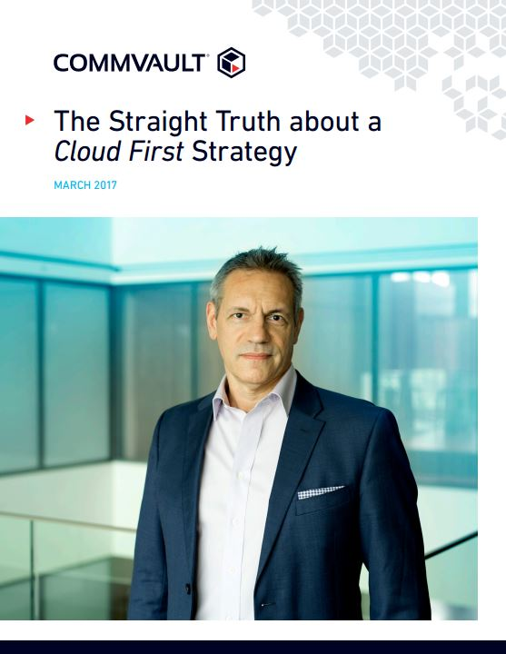 The Straight Truth about a Cloud First Strategy