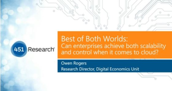 Best of Both Worlds Webcast: Can Enterprises Achieve Both Scalability and Control When it Comes to Cloud?