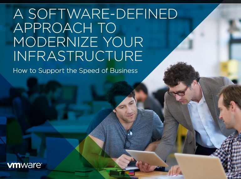 A SOFTWARE-DEFINED APPROACH TO  MODERNIZE YOUR INFRASTRUCTURE