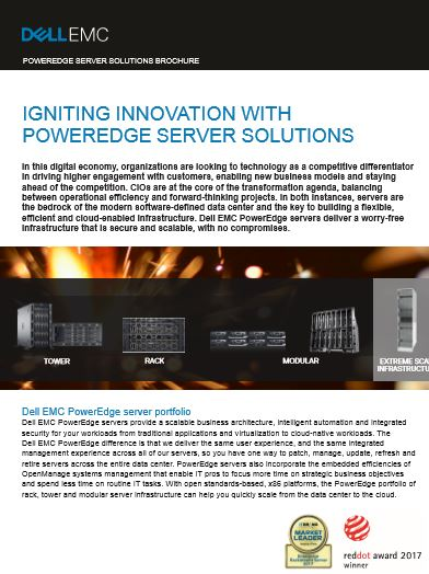 POWEREDGE SERVER SOLUTIONS