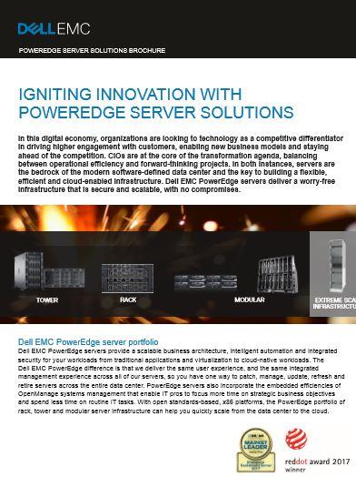 POWEREDGE SERVER SOLUTIONS