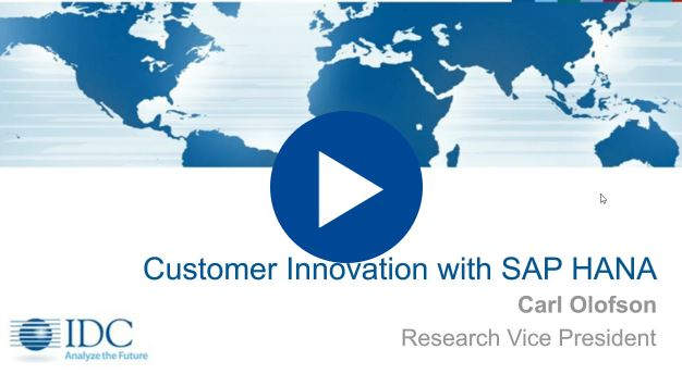 Exploring the Business Value of Innovating with SAP HANA