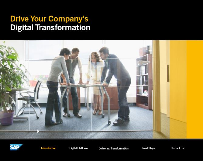 Drive Your Company's Digital Transformation