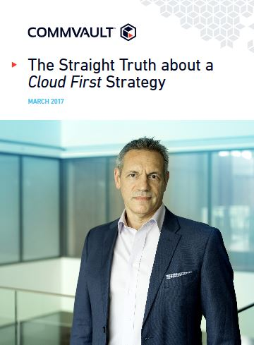 The Straight Truth about Cloud First Strategy
