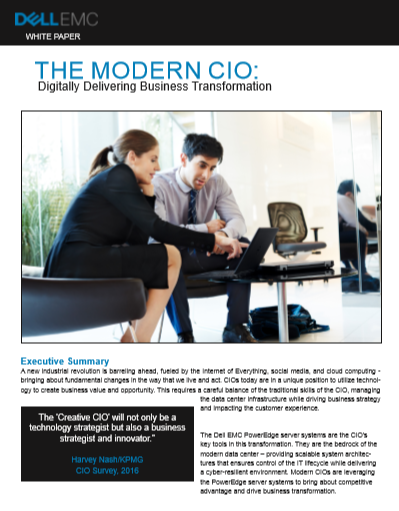 THE MODERN CIO: Digitally Delivering Business Transformation