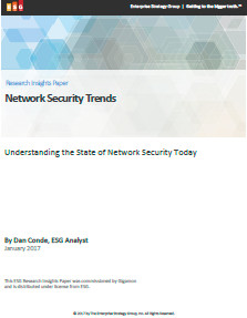 Network Security Trends