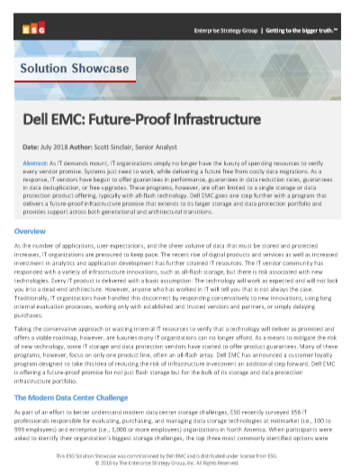 Dell EMC: Future-Proof Infrastructure