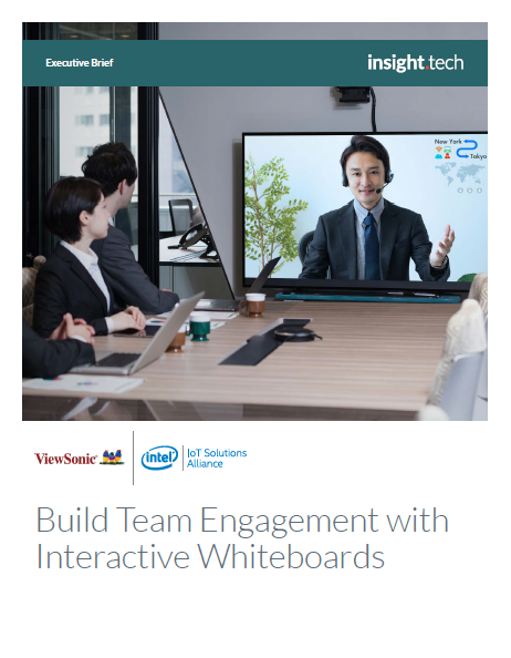 Build Team Engagement with Interactive Flat Panel Displays