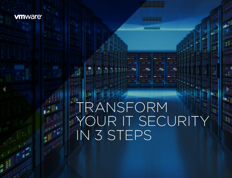 Transform your IT security in three steps
