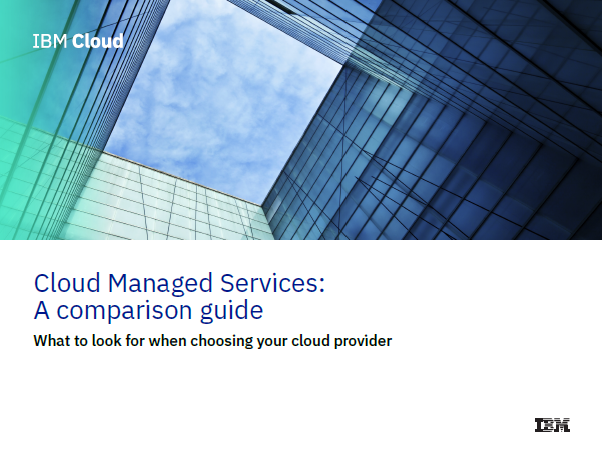 Cloud Manages Services Comparison Guide