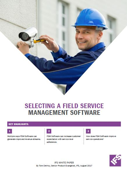 Selecting a Field Service Management software