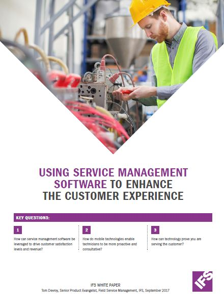 Using Service Management Software to enhance the Customer Experience