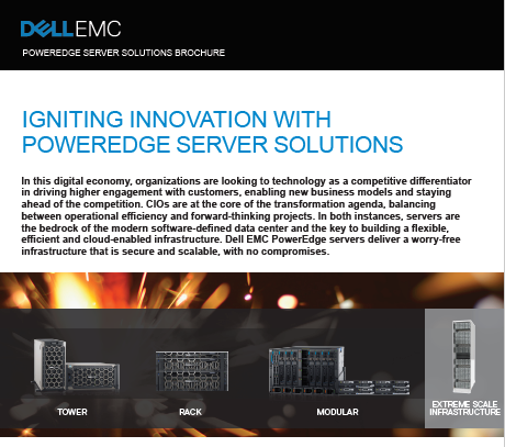 IGNITING INNOVATION WITH POWEREDGE SERVER SOLUTIONS