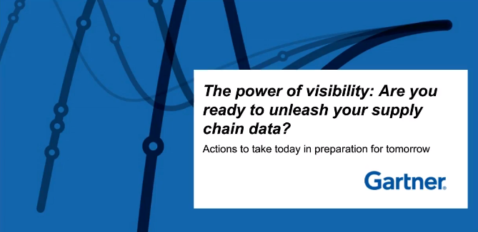 The Power of Visibility: Are you ready to unleash your supply chain data?