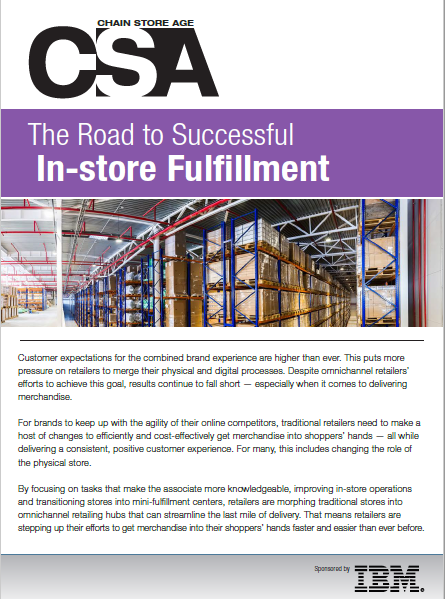 The Road to Successful In-store Fulfillment