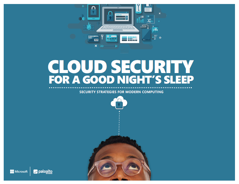 Cloud security for a good night's sleep