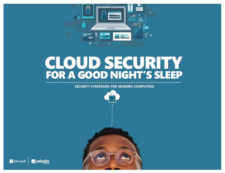 Cloud security for a good night's sleep