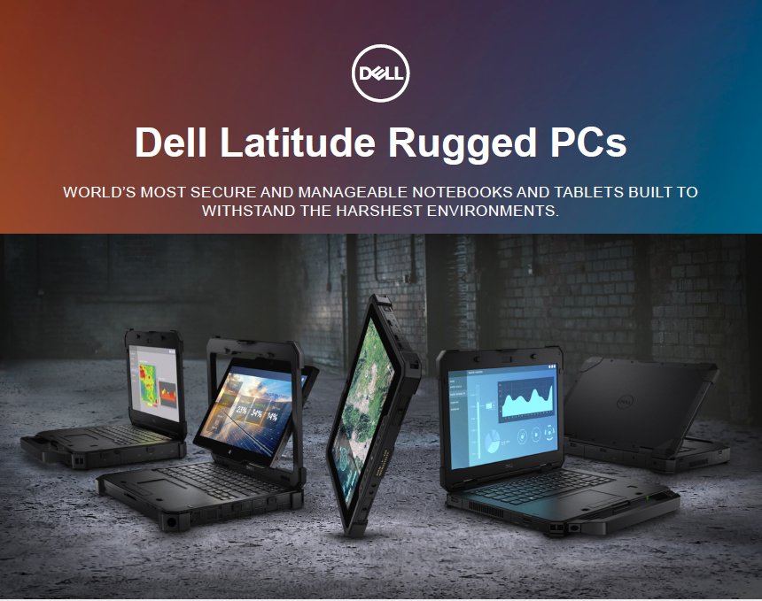 Dell latitude rugged Pc's