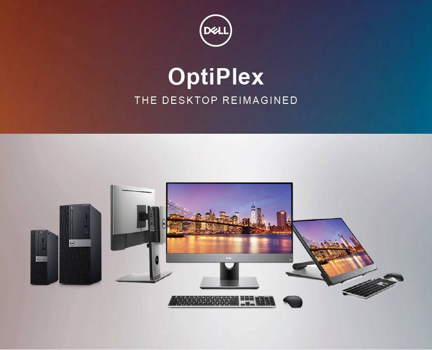 OptiPlex: the desktop reimagined