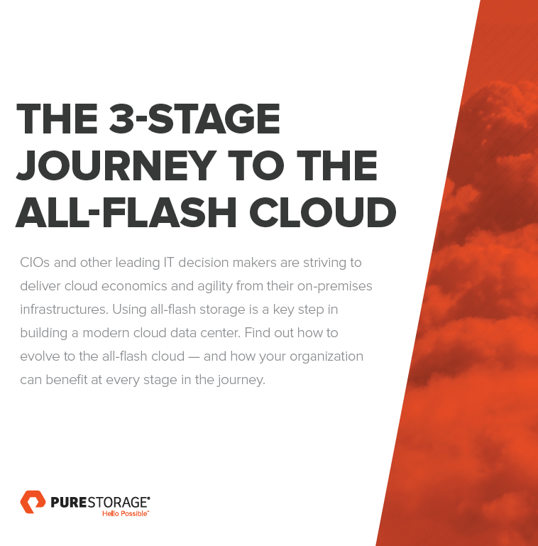 The 3-stage journey to the all-flash cloud