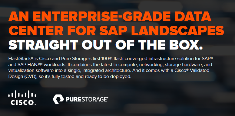 An enterprise grade data center for SAP landscapes