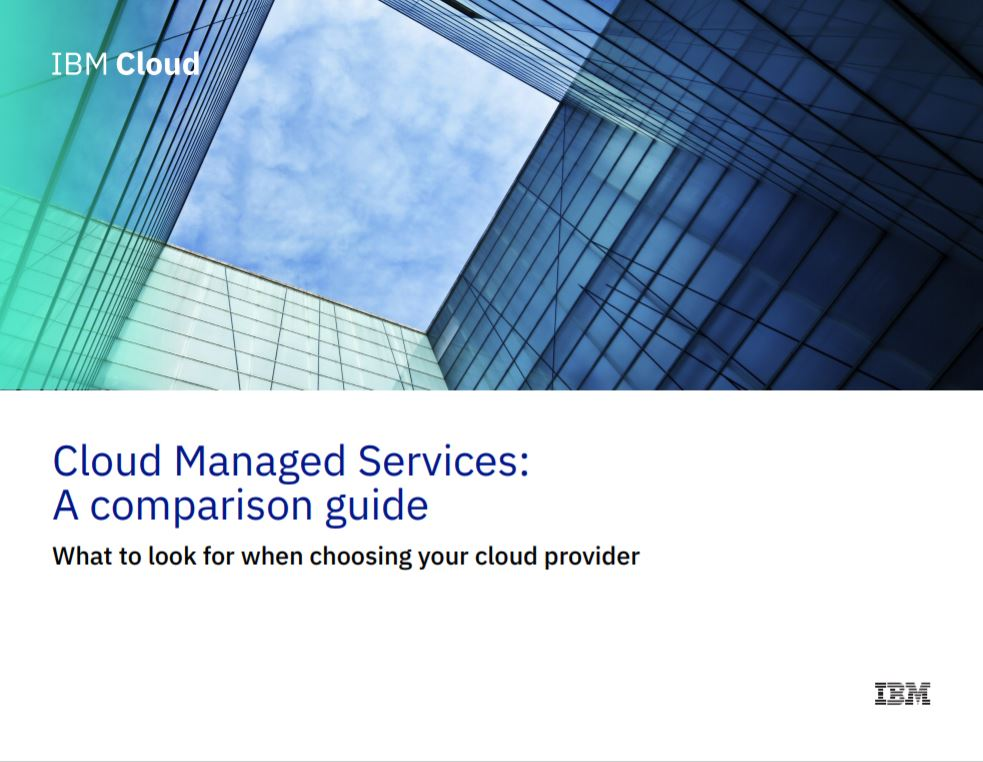 Cloud Managed Services: A comparison guide