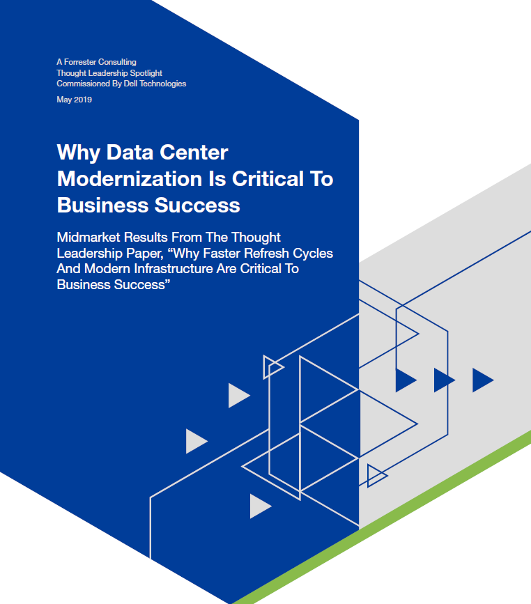 Why data center modernization is critical to business success