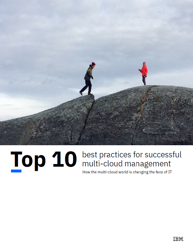 Top 10 best practices for successful multi-cloud management