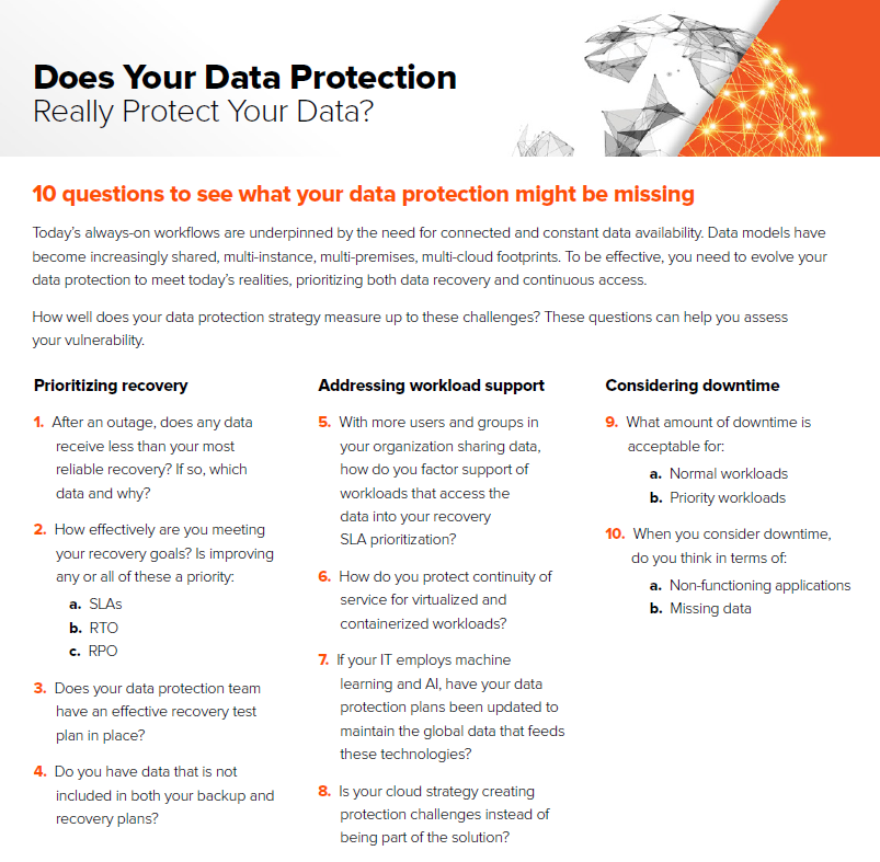 Does your data protection really protect your data?