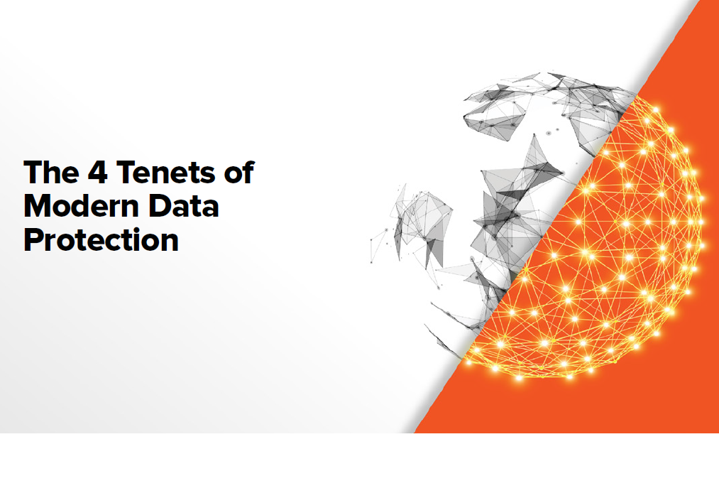The 4 tenets of modern data protection