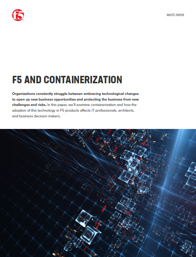 F5 and containerization