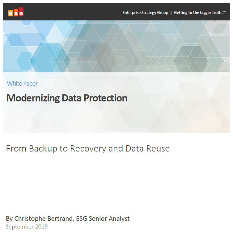 Modernizing data protection
