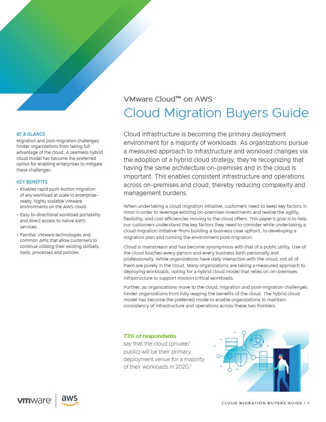 Cloud Migration Buyers Guide