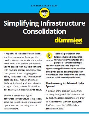 Simplifying Infrastructure Consolidation for Dummies
