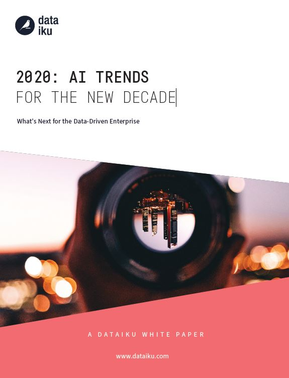 2020: AI trends for the new decade