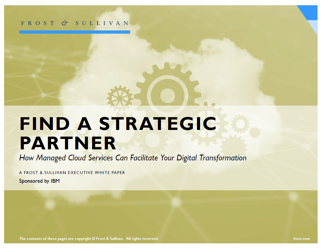 Find a Strategic Partner: How Managed Cloud Services Can Facilitate Your Digital Transformation