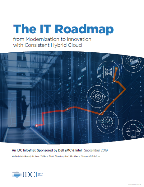 The IT Roadmap from Modernization to Innovation with Consistent Hybrid Cloud