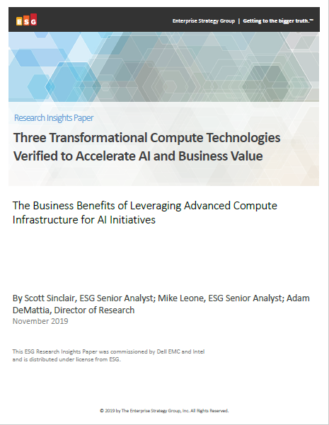 Three Transformational Compute Technologies Verified to Accelerate AI and Business Value