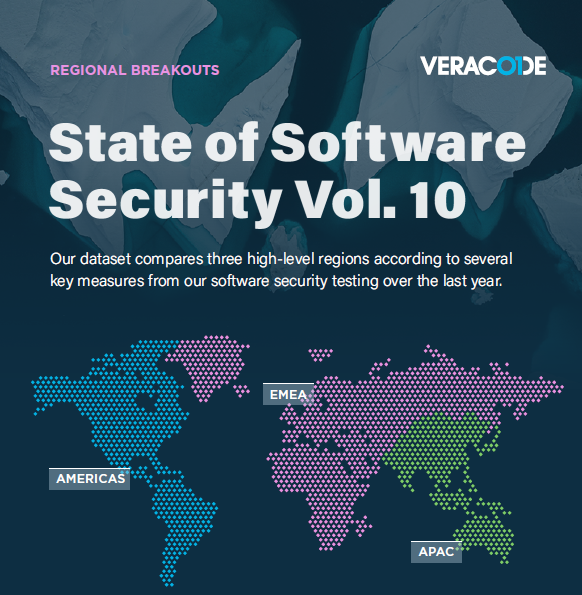 State of Software Security Vol. 10 Regional Breakouts
