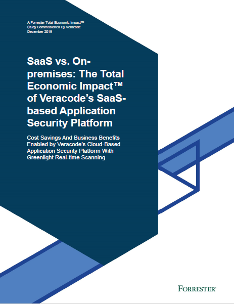 SaaS vs. On-premises: The Total Economic Impact of Veracode's SaaS-based Application Security Platform