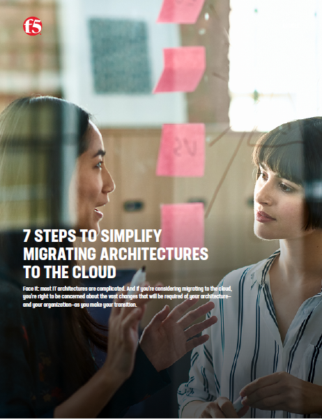 7 Steps to simplify migrating architectures to the cloud