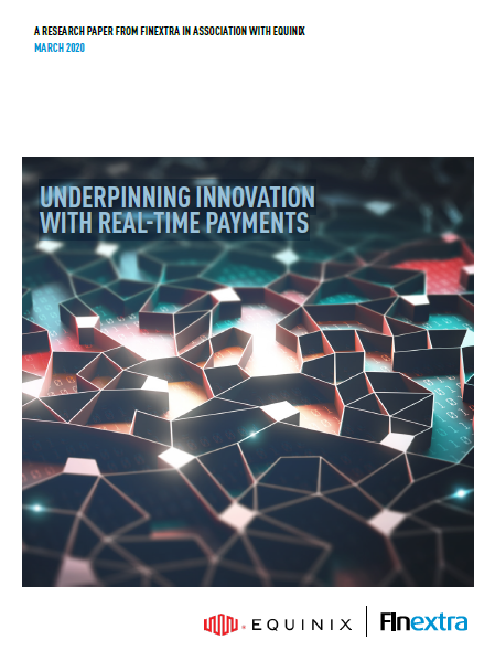 Underpinning innovation with real-time payments