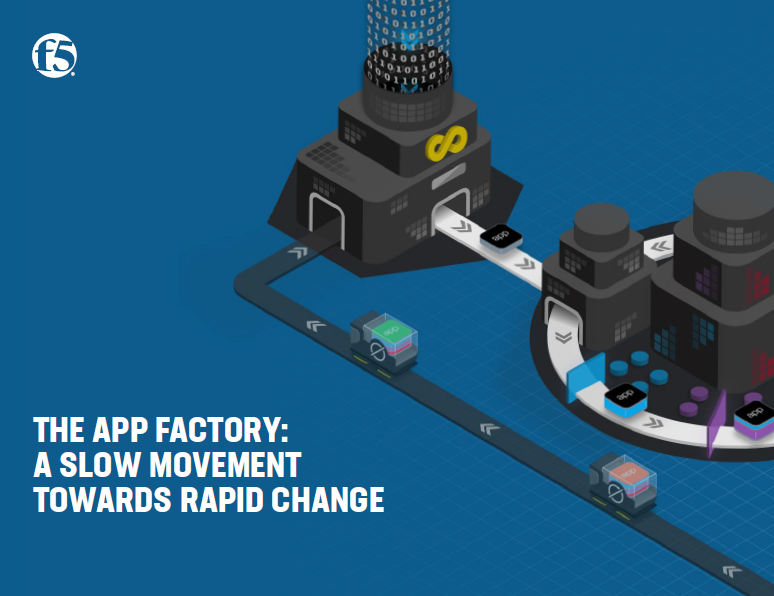 The App factory: A slow movement towards rapid change