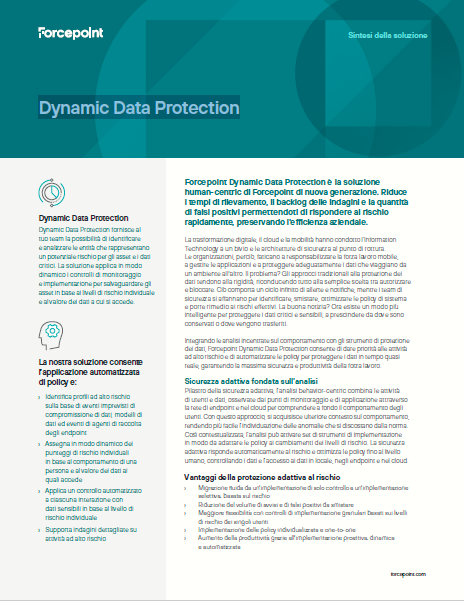 Dynamic Data Protection