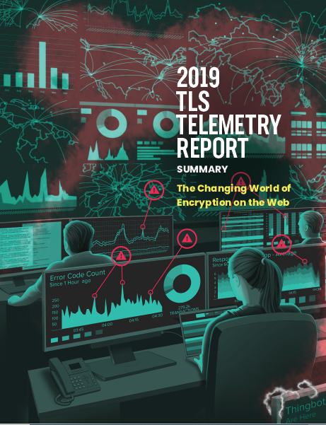 2019 TLS TELEMETRY REPORT. The Changing World of Encryption on the Web